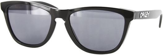 Oakley Frogskins Sunglasses - polished black/grey lens - view large