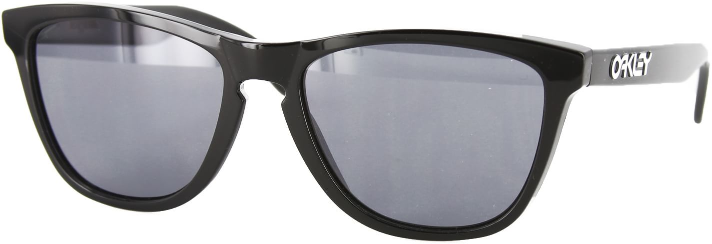 Oakley Frogskins Polished Black/Grey