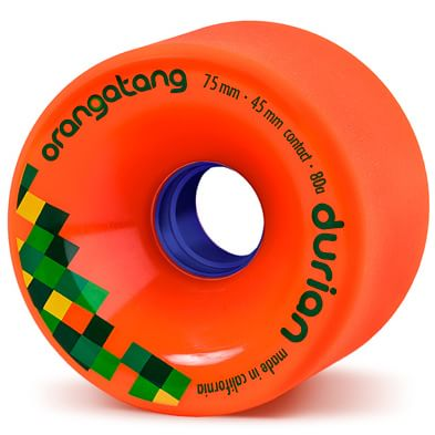 Orangatang Durian Freeride Longboard Wheels - orange (80a) - view large