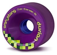 Orangatang Durian Freeride Longboard Wheels - purple (83a)