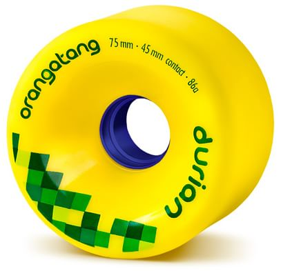 Orangatang Durian Freeride Longboard Wheels - yellow (86a) - view large
