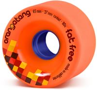 Orangatang Fat Free Freeride Longboard Wheels - orange (80a)