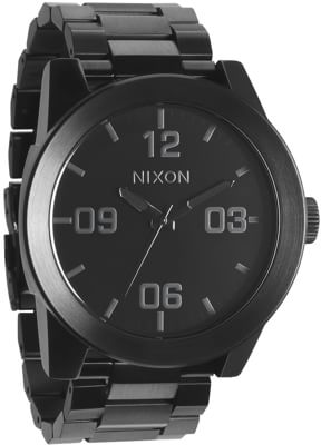 Nixon Corporal SS Watch - all black - view large