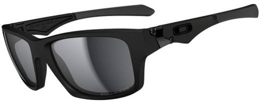 Oakley Jupiter Squared Polarized Sunglasses - matte black/black iridium polarized lens - view large