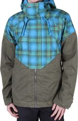 Burton Women's Credence Insulated Jacket (2012 Closeout) 2012 - lady luck fade out plaid