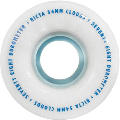 Ricta Cloud Skateboard Wheels - white/blue (78a) - view large