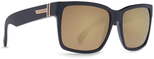 Von Zipper Elmore Sunglasses - b.s. black satin/gold glo lens - view large