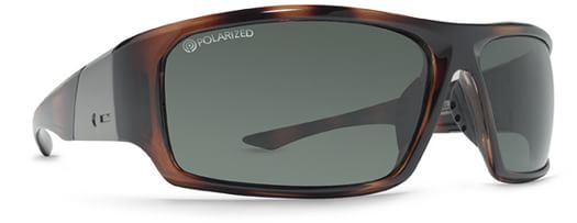 Dot Dash Destro Sunglasses - tortoise/bronze polarized lens - view large