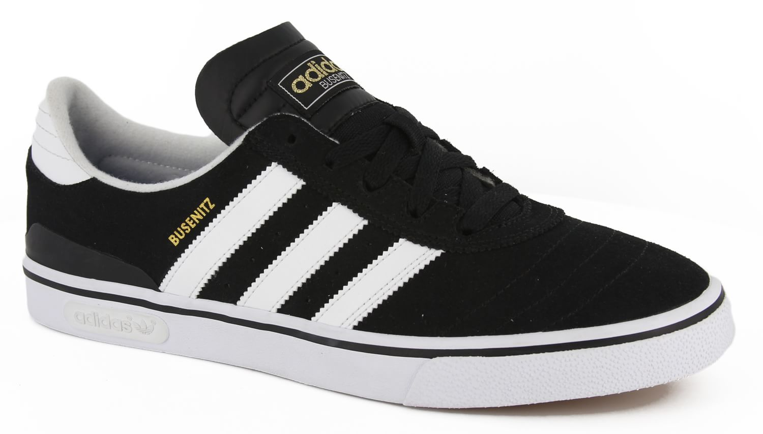 Busenitz Vulc Skate Shoes - black/running white/black - view large