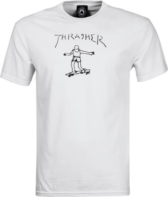 Thrasher Gonz T-Shirt - white - view large