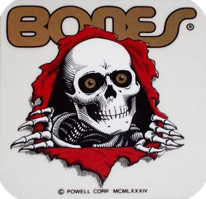 "Powell Peralta Ripper 5"" Sticker - clear - view large"