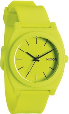 Nixon Time Teller P Watch - neon yellow - view large
