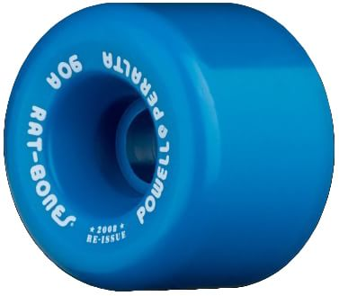 Powell Peralta Rat Bones Re-Issue Skateboard Wheels - blue (90a) - view large