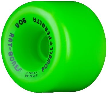 Powell Peralta Rat Bones Re-Issue Skateboard Wheels - green (90a) - view large