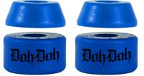 Shortys Doh Doh's Quad Pack Skate Bushings (2 Truck Set) - blue - view large