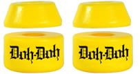 Shortys Doh Doh's Quad Pack Skate Bushings (2 Truck Set) - yellow - view large