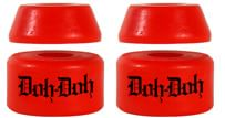Shortys Doh Doh's Quad Pack Skate Bushings (2 Truck Set) - red - view large