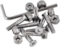 Independent Genuine Parts Allen Mounting Skateboard Hardware - silver
