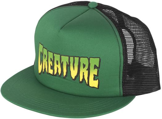 Creature Logo Mesh Trucker Hat - view large
