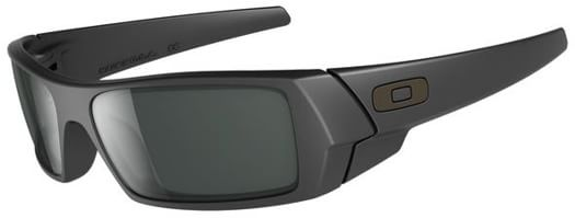 Oakley Gascan Sunglasses - matte black/grey lens - view large