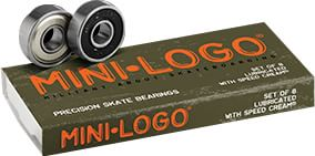 Mini Logo Precision Skateboard Bearings - view large