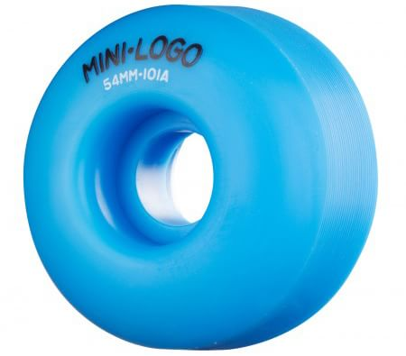 Mini Logo C-Cut Skateboard Wheels - blue (101a) - view large