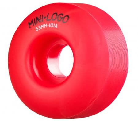 Mini Logo C-Cut Skateboard Wheels - red (101a) - view large