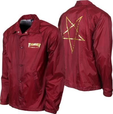 Thrasher Pentagram Coach Jacket - view large