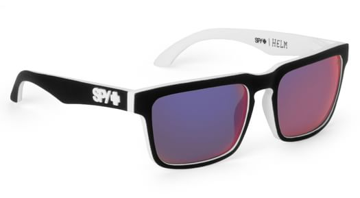 Spy Helm Sunglasses - whitewall/grey w/navy spectra lens - view large