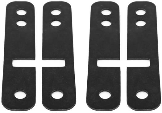 Loaded Drop-Thru Shock Pad Strips (Set Of 4) Skateboard Risers - view large