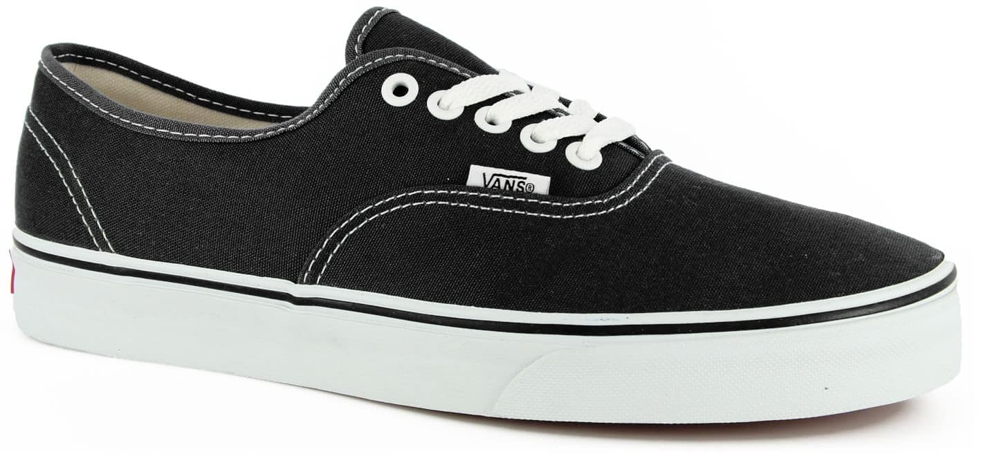 vans authentic black and white skate shoes