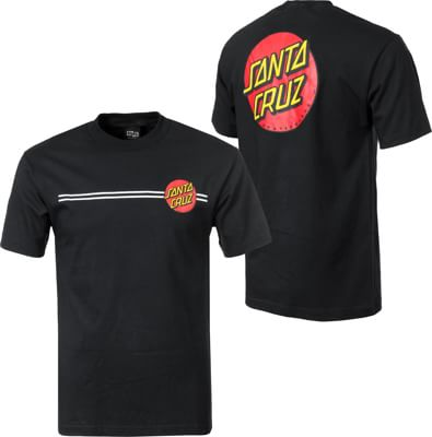 Santa Cruz Classic Dot T-Shirt - black - view large