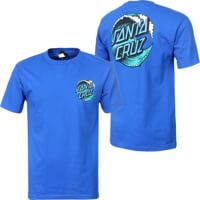 Santa Cruz Wave Dot T-Shirt - royal blue
