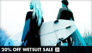 Save 20% Off Wetsuits at Tactics