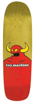 Toy Machine Monster XXL 9.0 Skateboard Deck - yellow stain - view large