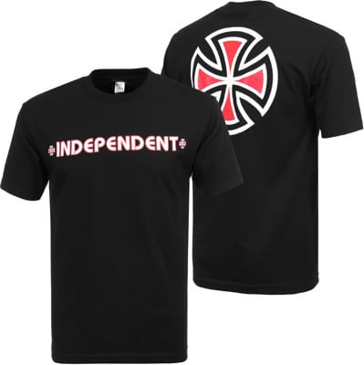 Independent Bar/Cross T-Shirt - view large
