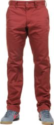 RVCA Week-End Pants - red earth