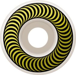 Spitfire Classic Skateboard Wheels - white/yellow (99d) - view large