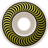 Spitfire Classic Skateboard Wheels - white/yellow (99d)