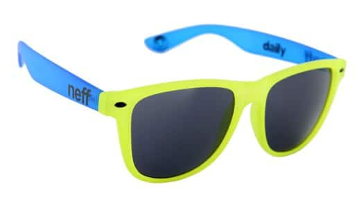 Neff Daily Sunglasses - yellow/blue - view large