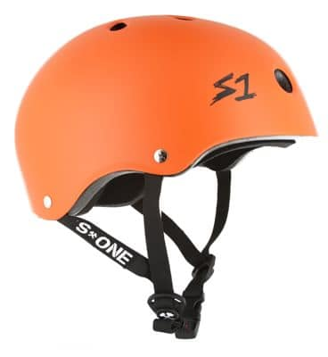 S-One Lifer Dual Certified Multi-Impact Skate Helmet - orange matte - view large
