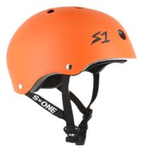 S-One Lifer Dual Certified Multi-Impact Skate Helmet - orange matte
