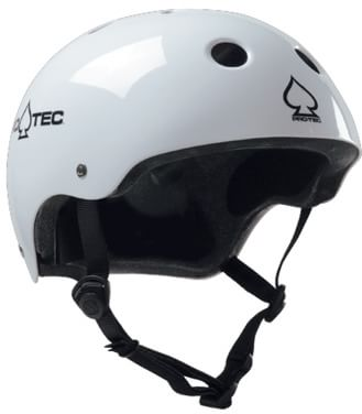ProTec Classic Certified EPS Skate Helmet - gloss white - view large