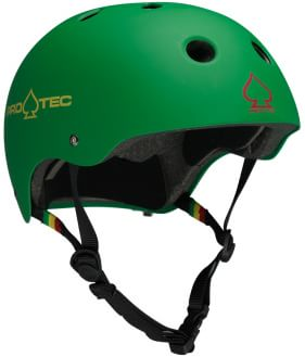ProTec The Classic EPS Skate Helmet - matte rasta green - view large
