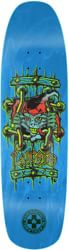 Black Label Emergency Lucero X2 8.88 Skateboard Deck - blue