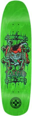 Black Label Emergency Lucero X2 8.88 Skateboard Deck - green - view large