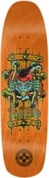 Black Label Emergency Lucero X2 8.88 Skateboard Deck - orange