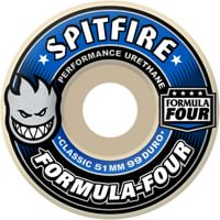 Spitfire Formula Four Classic Skateboard Wheels - white (99d)