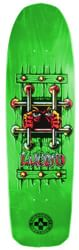 Black Label Emergency Lucero OG Bars 9.25 Skateboard Deck - green