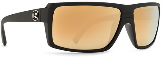 Von Zipper Snark Sunglasses - battlestations black gold/gold glo lens - view large